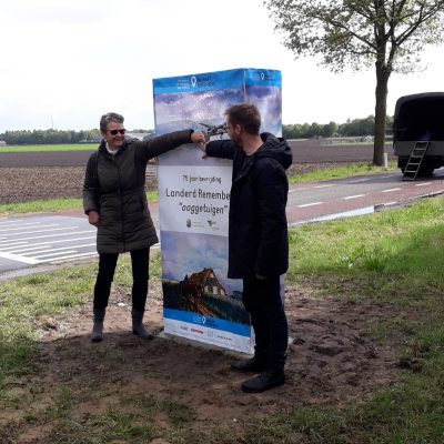 Onthulling silhouet Ooggetuigen - Passion for Leisure